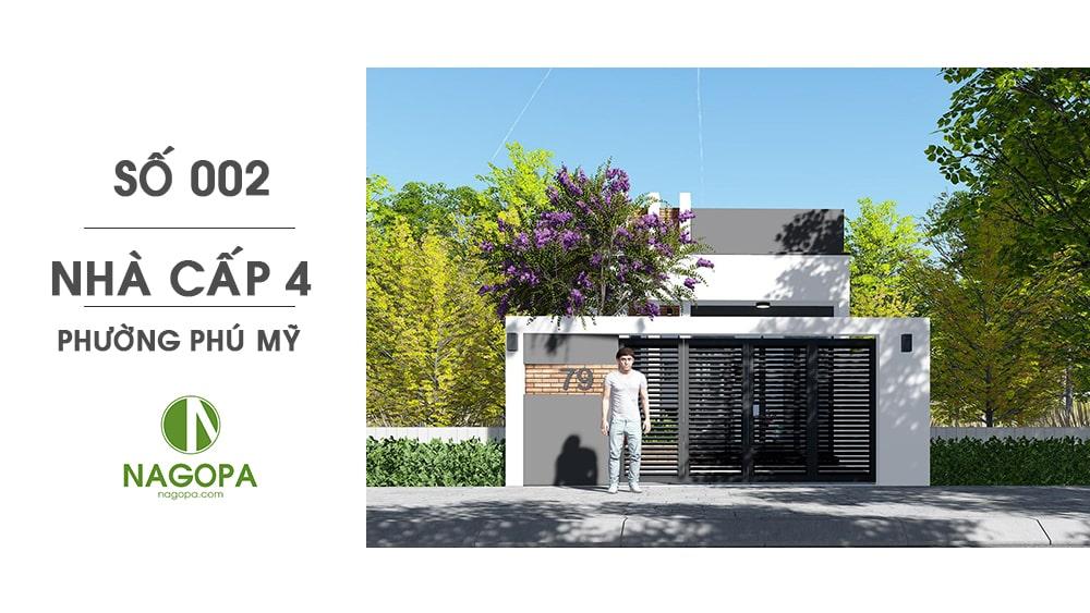 nhà cấp 4 số 002 phường phú mỹ 07