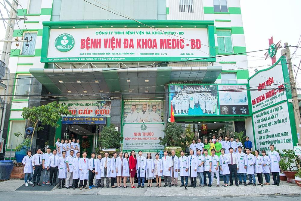 bệnh viện đa khoa medic bình dương